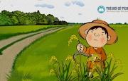Bài bình thơ thiếu nhi HẠT THÓC NGOAN của Nhà thơ Nguyễn Văn Thanh