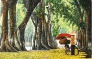 Thơ chọn lời bình: Buổi sáng mùa thu